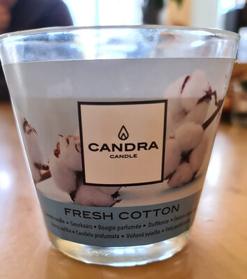 Candra candle fresh cotton - Product - fr