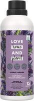 Love Home and Planet Lessive Liquide Lavande & Huile d'Argan 15 Lavages - Produit - fr