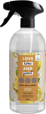 Love Home and Planet Spray Nettoyant Yuzu & Vanille - Product - fr