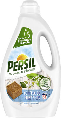 Persil Lessive Liquide Souffle de Printemps aux extraits naturels de Fleur d'Oranger 1,9l 38 Lavages - Produit - fr