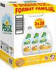 Persil Lessive Liquide Fraîcheur de Méditerranée aux extraits de Romarin Bio - Format Familal Lot 3x1.9L - 114 Lavages - Produit