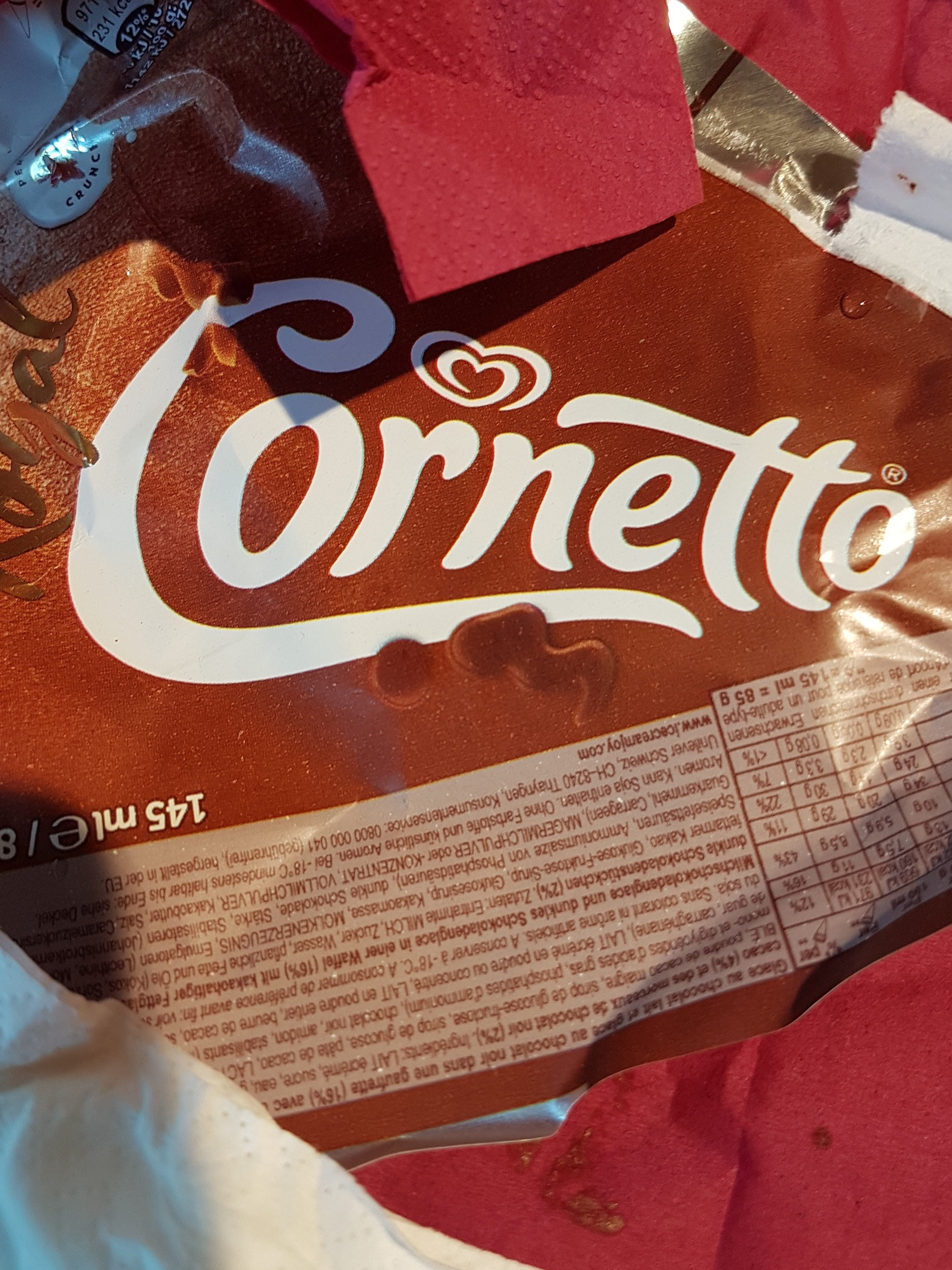 cornetto - Product - fr