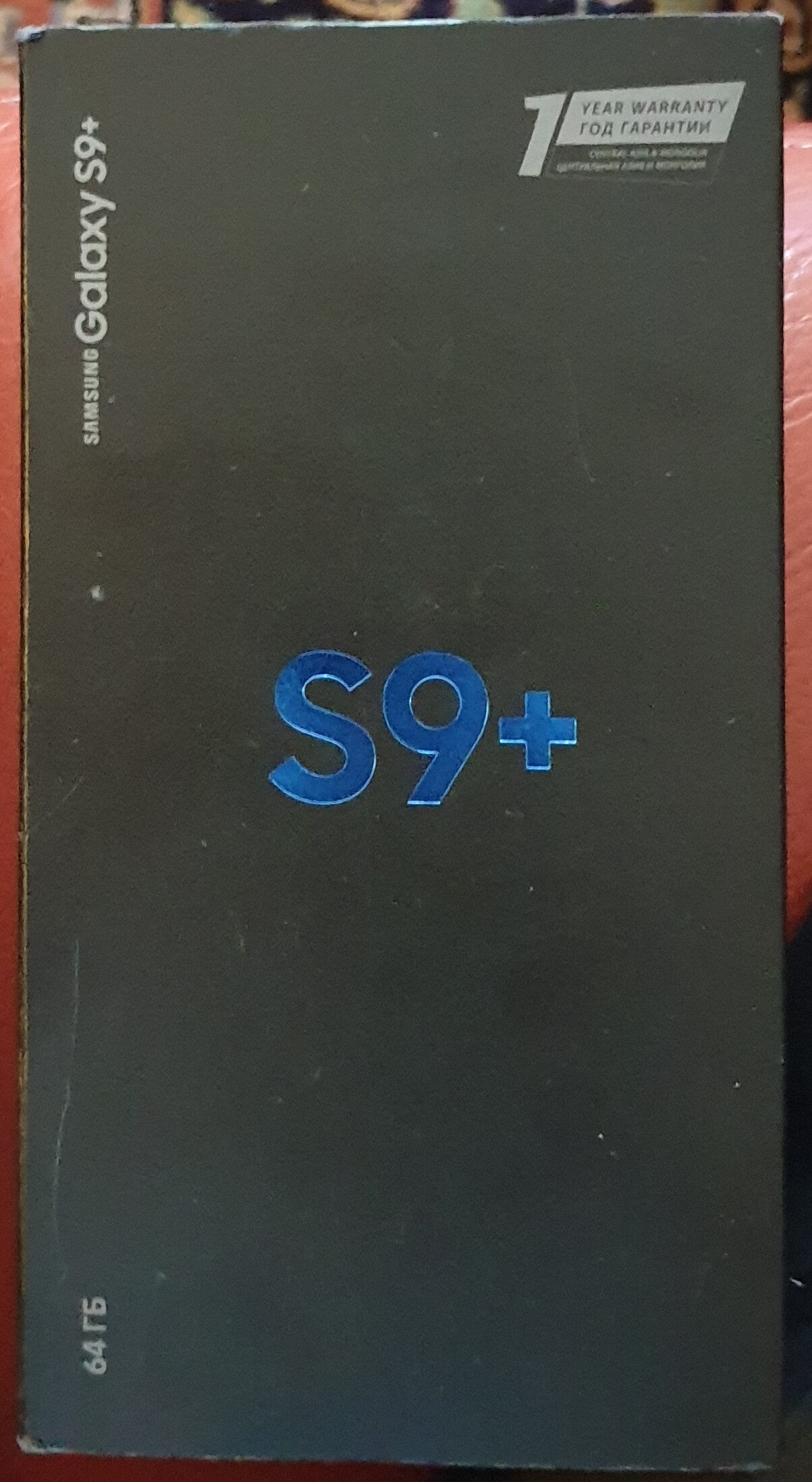 Samsung Galaxy S9+ - Produit - ru