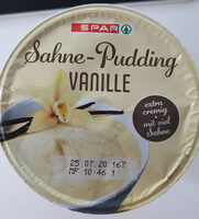 Sahne-Pudding Vanille - Product - en