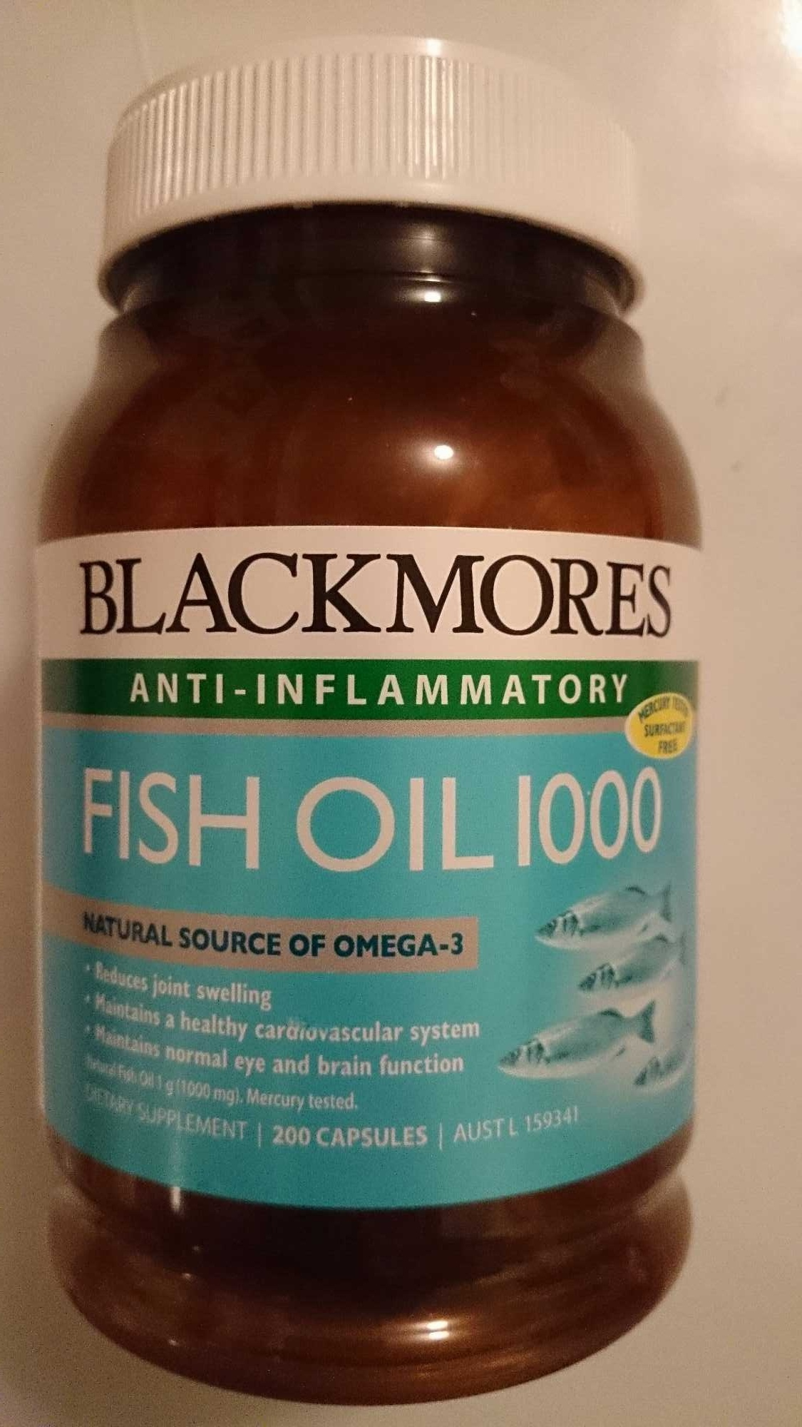 Fish Oil 1000 Vitamin Supplement - Product