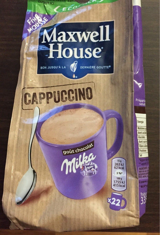 Cappuccino Milka - Product - fr
