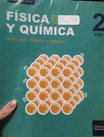 Libro física y química 2ºeso - Product