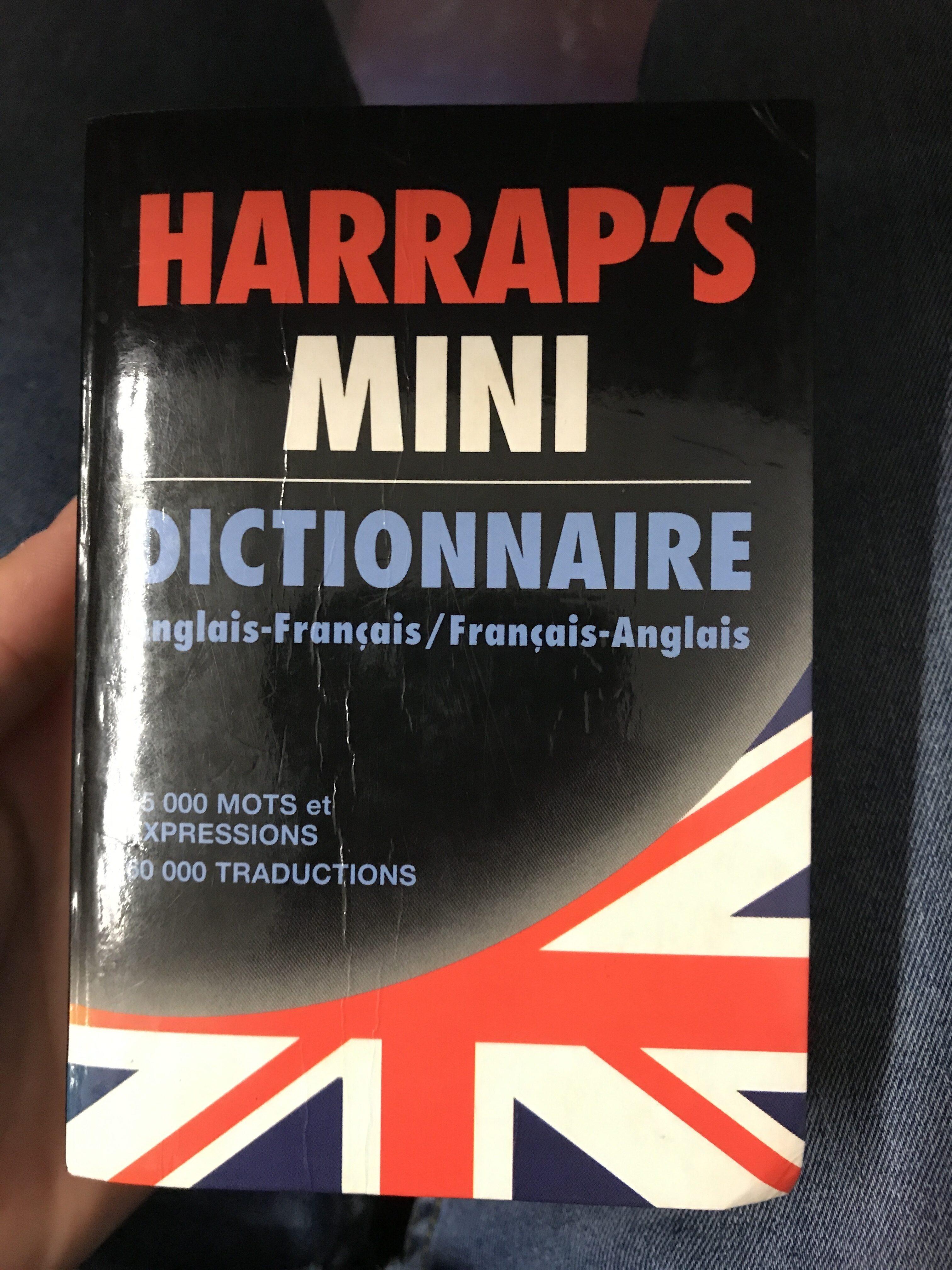 Dico englais - Produit - fr