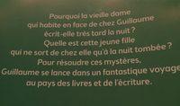 La bibliothécaire - Ingredients - fr