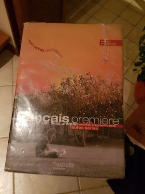 Livre français - Produit