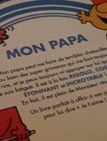 Les monsieur et les madaames papa - Product - fr