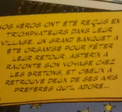 Asterix - Chez Les Britons, Rene Goscinny, ... - Ingredients