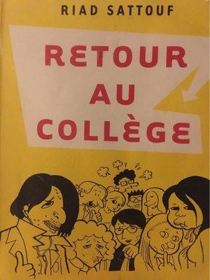 Retour au collège - Riad Sattouf - Product