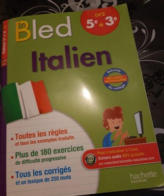 Bled italien - Product