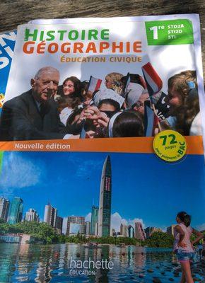 Histoire Géographie 1re - Product