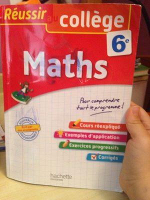 Reussir au college 6e Maths - Product