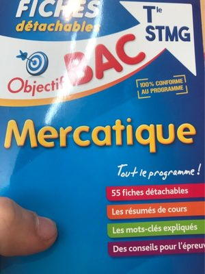 Bac Fiches Mercatique - Product