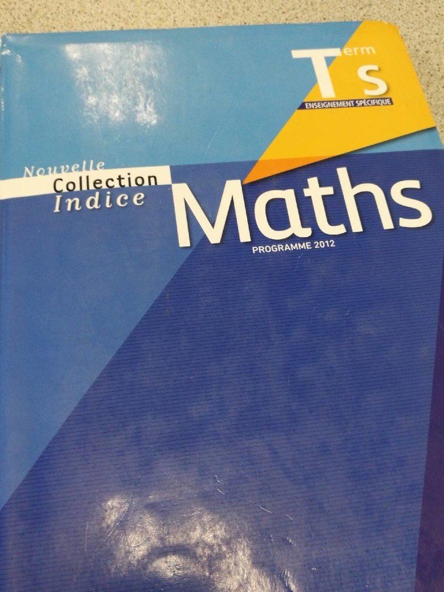 Livre de maths - Produit - fr
