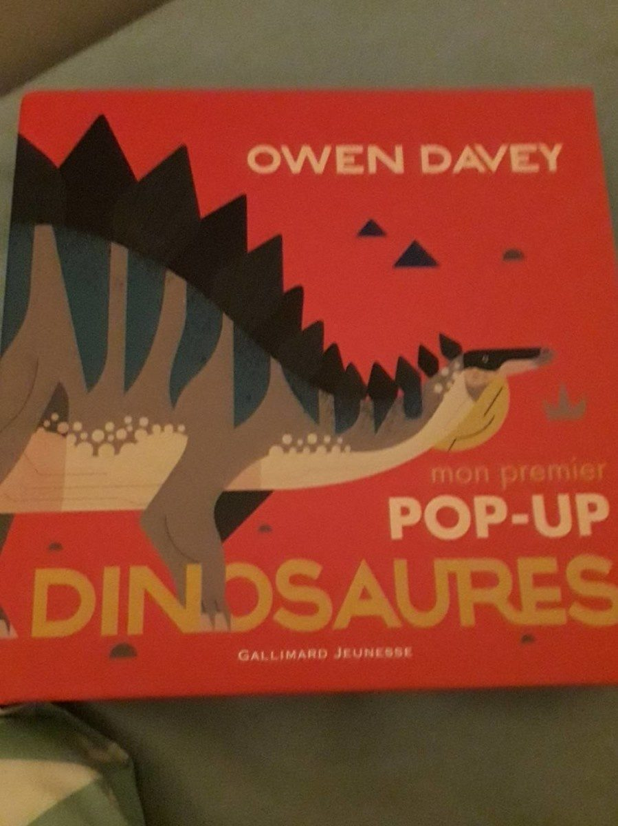 Pop-up dinosaure - Product - fr