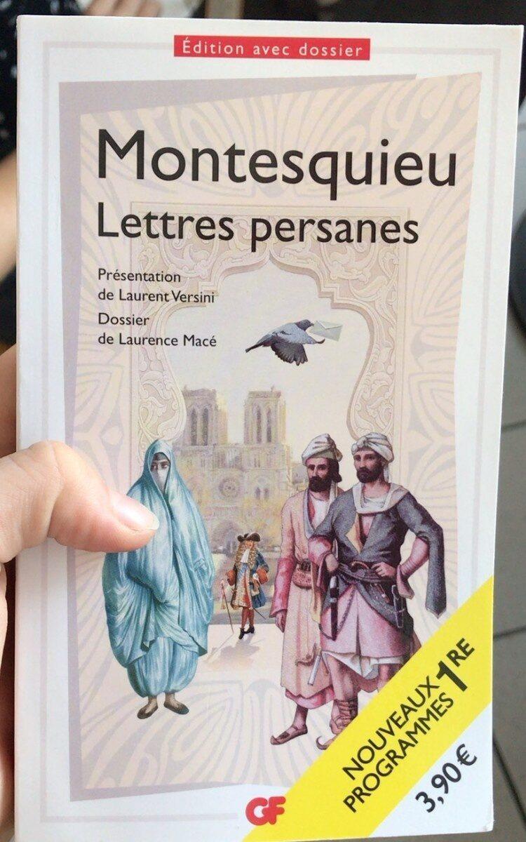Lettres persanes - Produit - fr