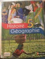 Histoire Géographie 5ème - Product