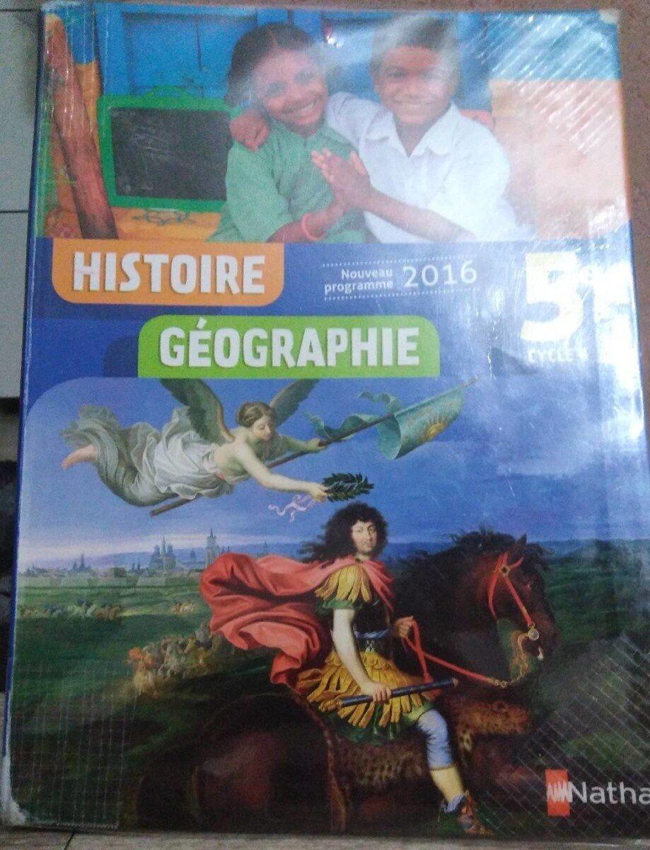 Cahier d'histoire 5ème - Product - fr
