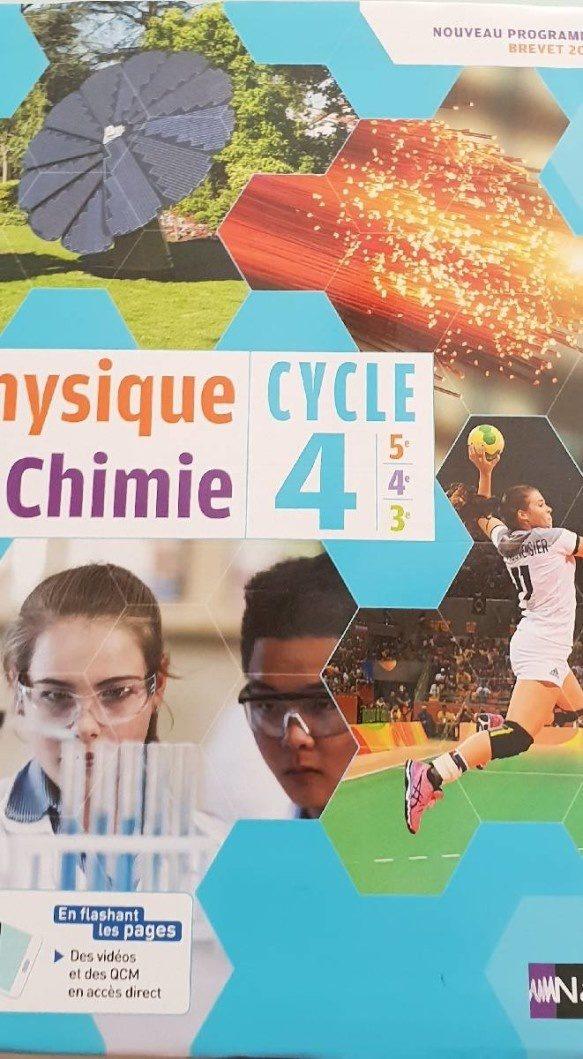 Physique Chimie Cycle 4 - Produit