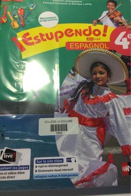 Livre espagnol 4 eme - Product