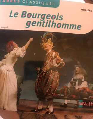 Le bourgeois gentilhomme - Product