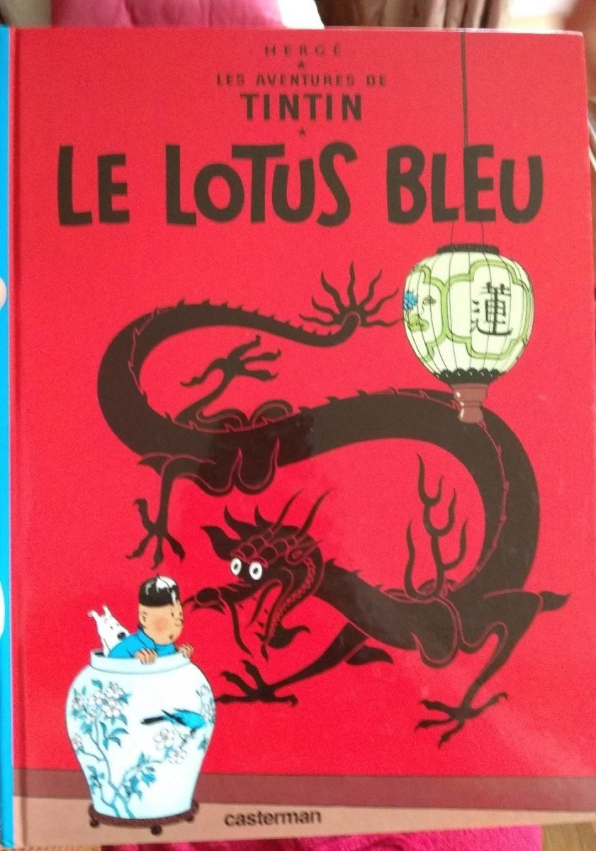 Tintin Et Le Lotus Bleu, Herge - Product - fr