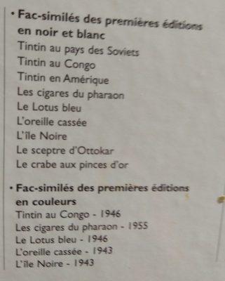 Tintin Et Le Lotus Bleu, Herge - Ingredients - fr