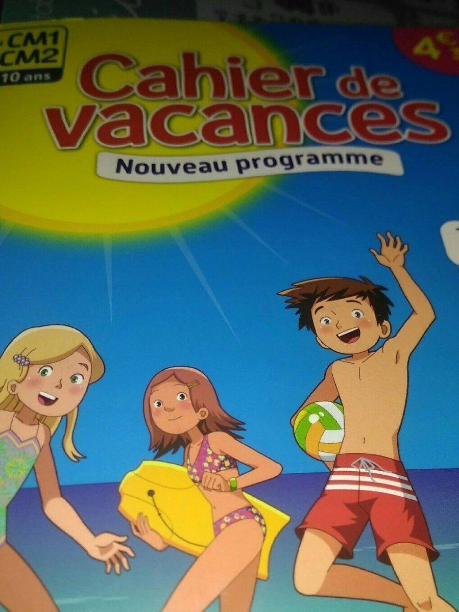 Cahier de vacance - Product - fr
