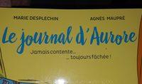 Le journal d'Aurore - Ingrédients