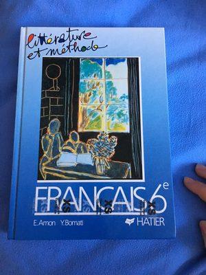 Littérature et méthode Français 6e - Produit