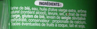 Panini - Ingredients