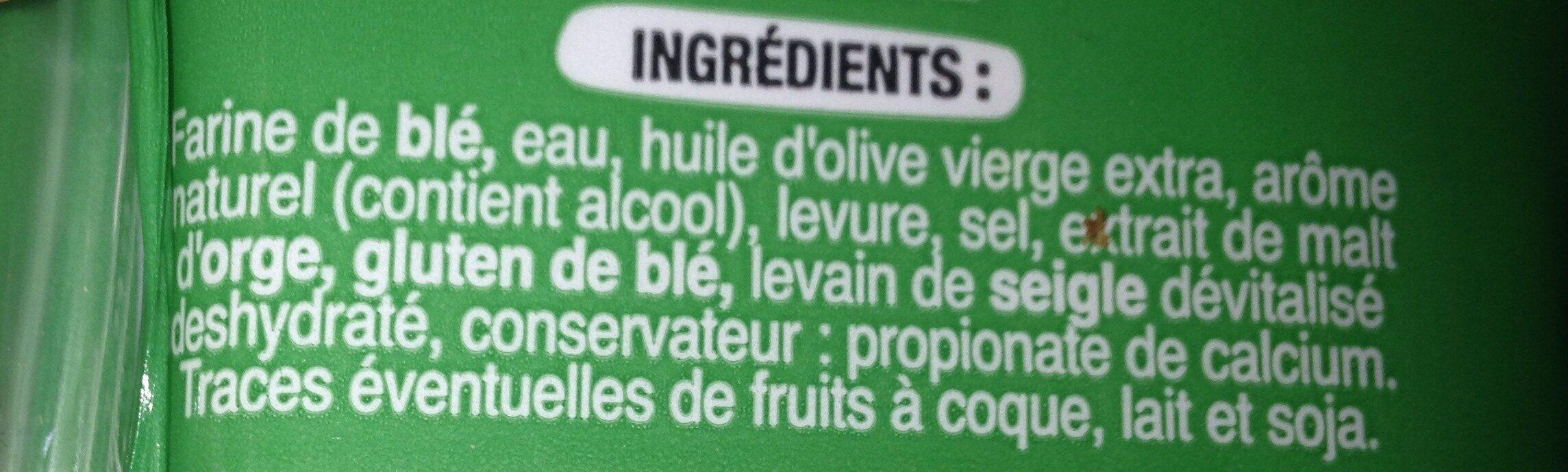 Panini - Ingrédients