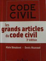 les grands articles du code civil - Product