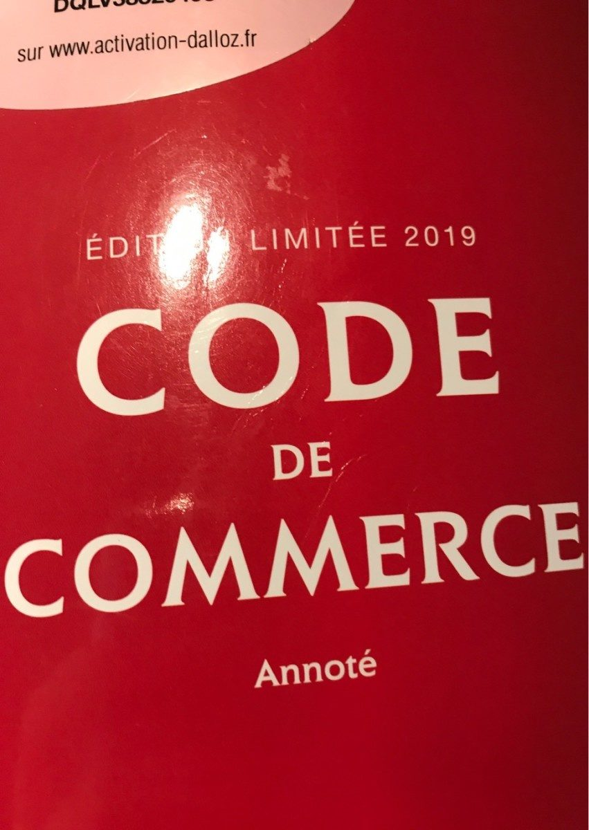 Code de commerce 2019 annoté - Product - fr