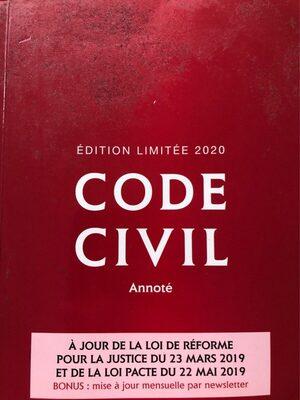 Code civil - Produit - fr
