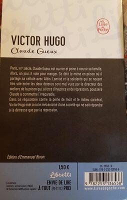 Victor Hugo de CLAUDE GUEUX - Ingrédients