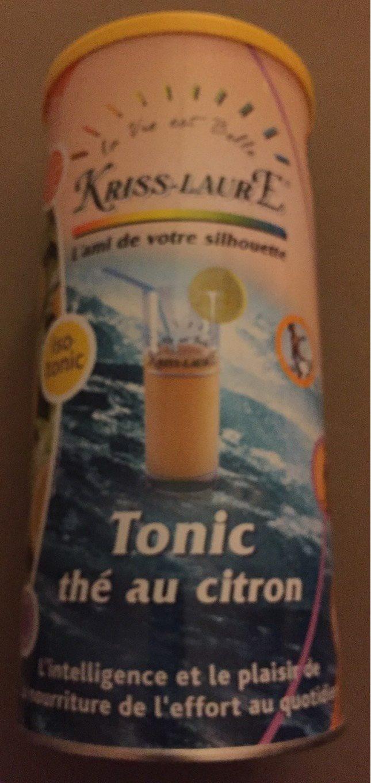 Tonic thé citron - Produit - fr