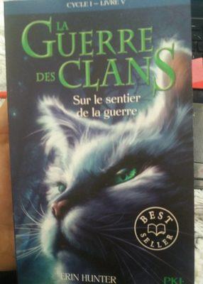 Guerre Clans T5 Sur Le Sentier, Erin Hunter - Product