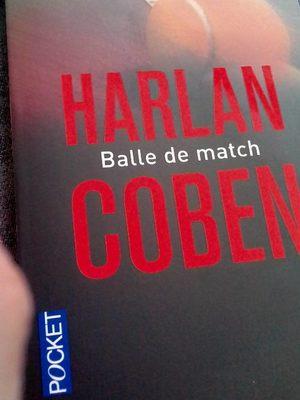 Livre Balle de match - Produit