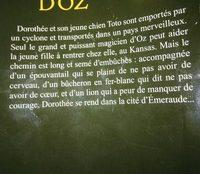 Le magicien d'Oz - Ingrédients - fr