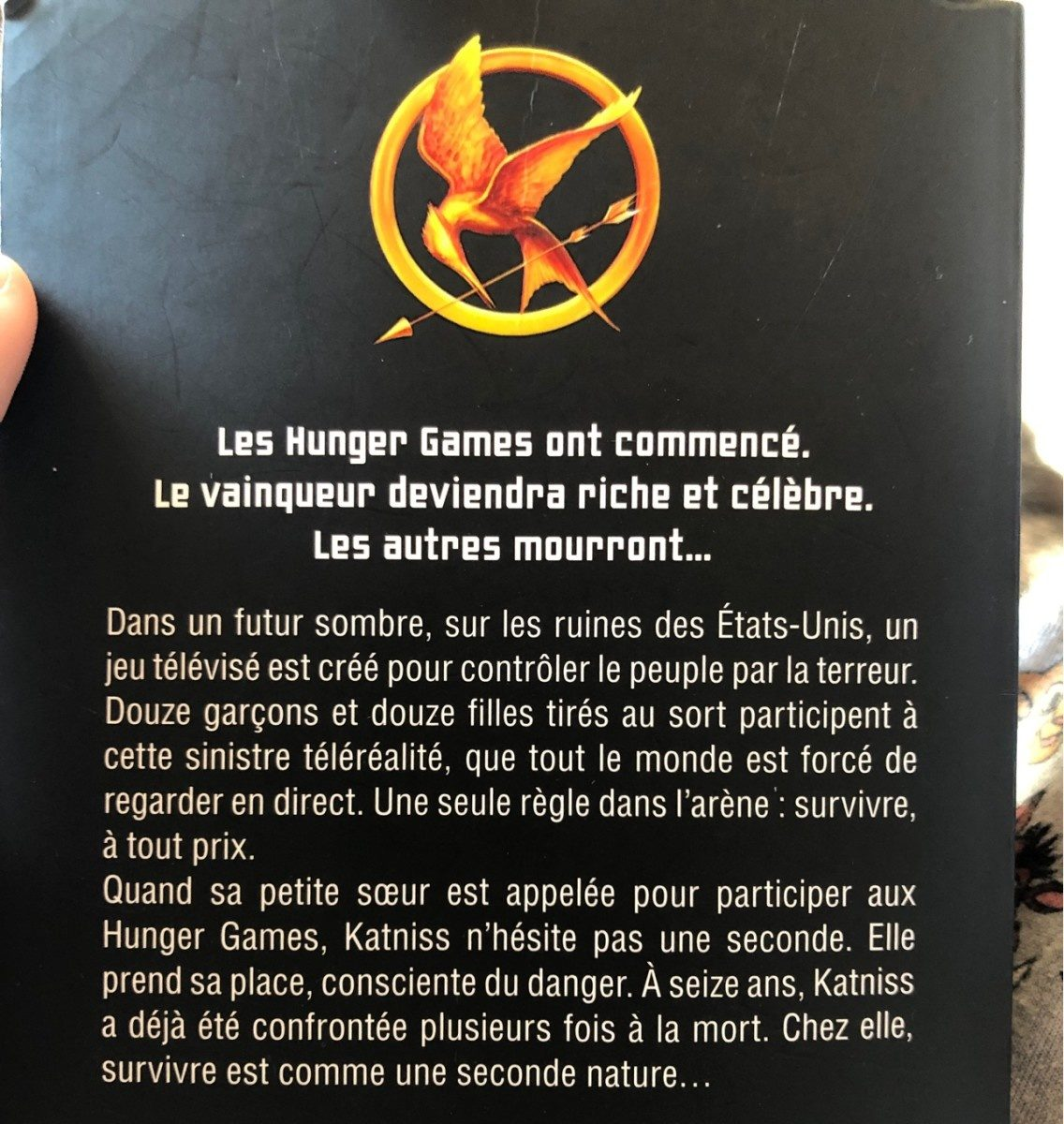Hunger games - Ingredients