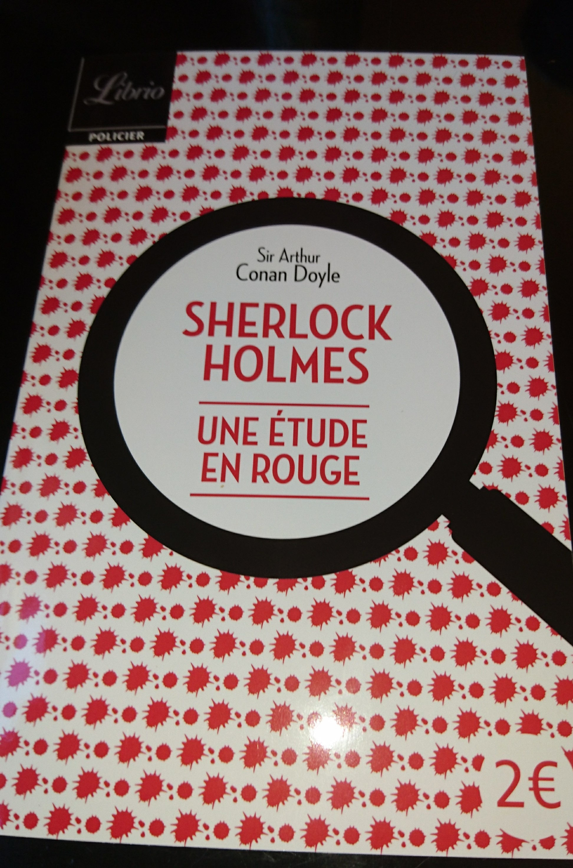 Sherlock Holmes une étude en rouge - Produit