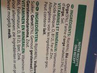L'illiade pomme-fraise - Ingredients