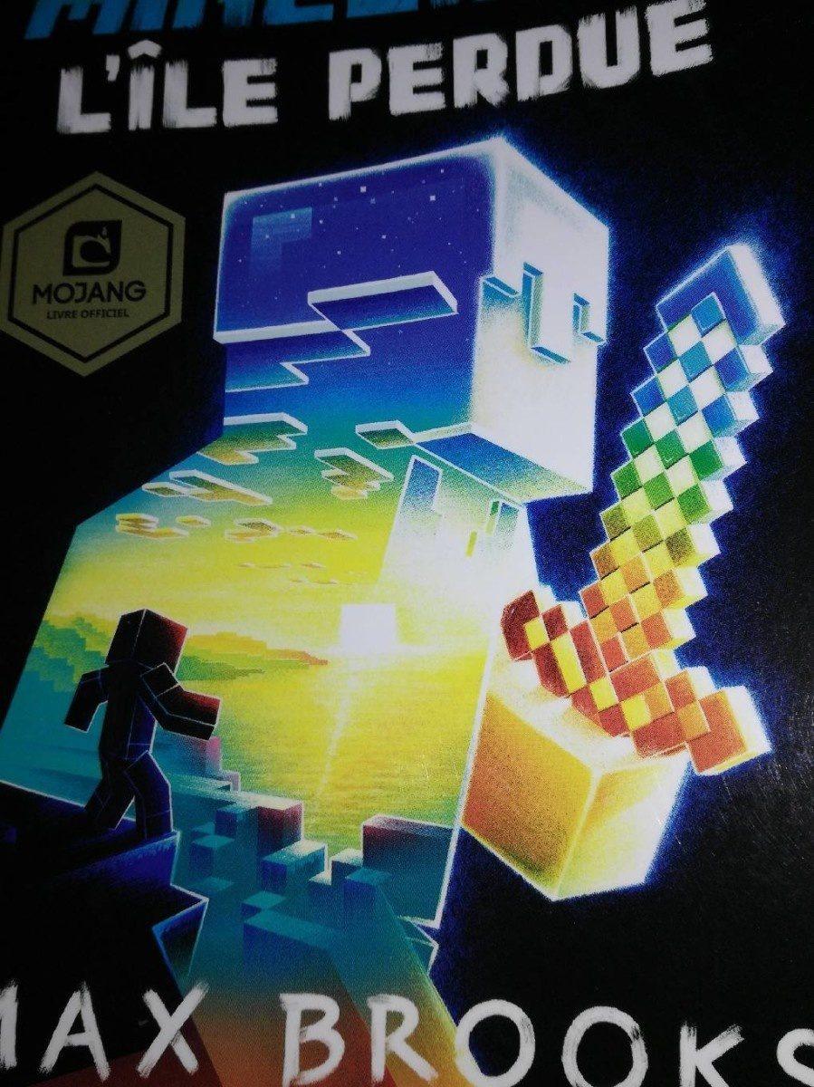 Livre Minecraft - Produit