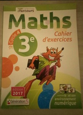 Maths cahier d'exercices 3e cycle 4 - Product