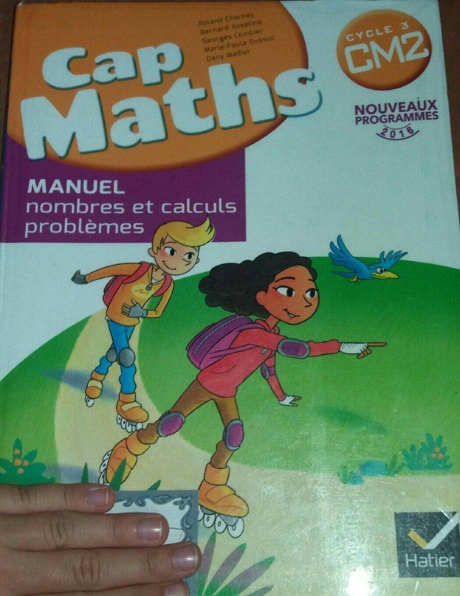 Manuel cap maths - Product - fr